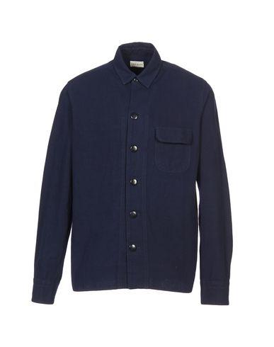 Simon Miller Solid Color Shirt In Dark Blue