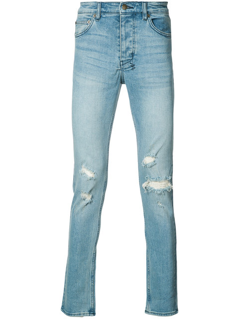 Ksubi Chitch Philly Skinny Fit Jeans In Phly Blu