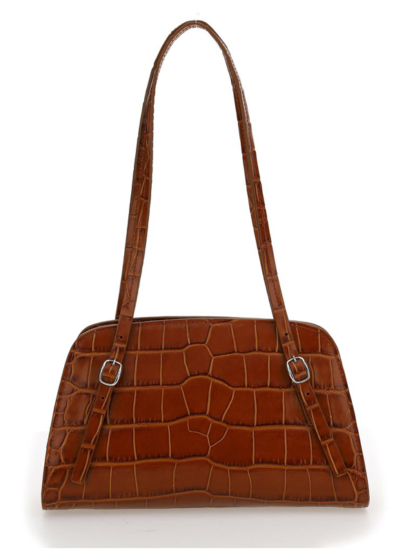 By Far Lora Shoulder Bag In Brown