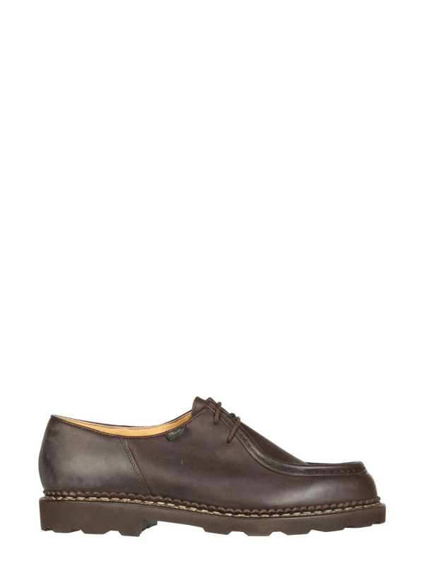 Paraboot Michael Lace-up In Marrone
