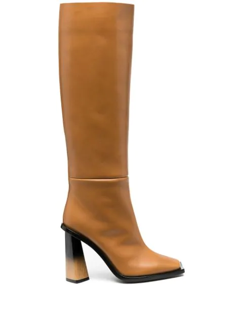 Givenchy Knee-high Boots In Neutrals