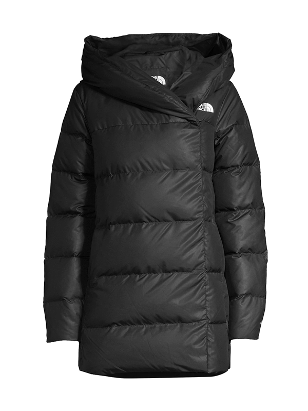 The North Face Women's Bagley Down Puffer Coat In Tnf Black