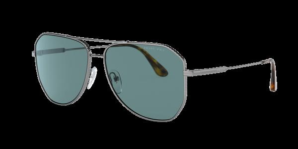 Prada Men's Polarized Sunglasses, 0pr 63xs In Green