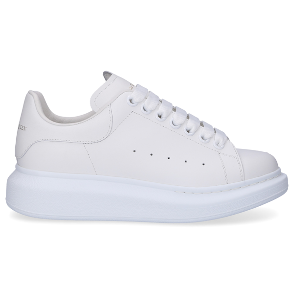 Alexander Mcqueen Larry Lace-up Sneakers In White
