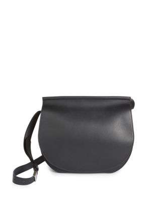 Givenchy Infinity Mini Chain-trimmed Leather Shoulder Bag In Black