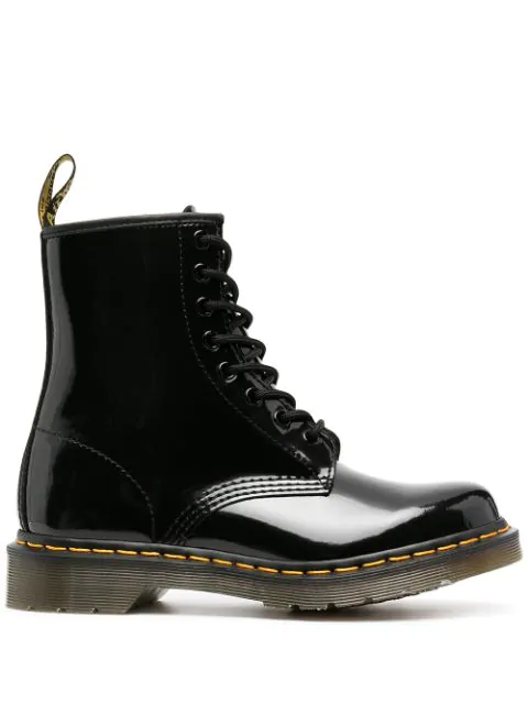 Dr. Martens Modern Classics 1460 Patent 8-eye Boots-black