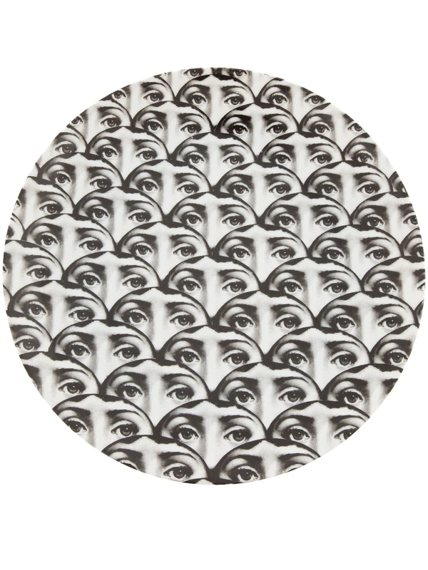 Fornasetti Plate In Grey