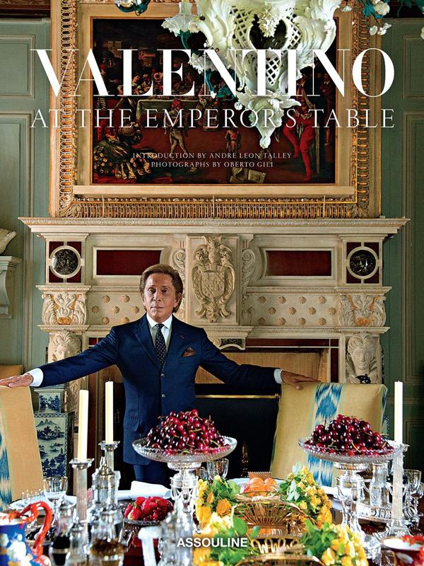 Assouline Valentino: At The Emperor's Table In Multicolour