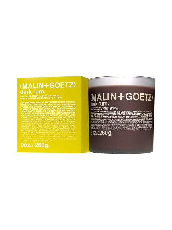 Malin + Goetz Dark Rum Scented Candle (260g) In Brown