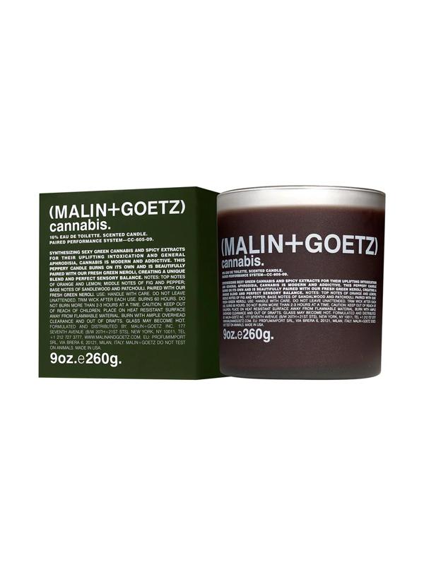 Malin + Goetz Cannabis Candle 260g In Brown