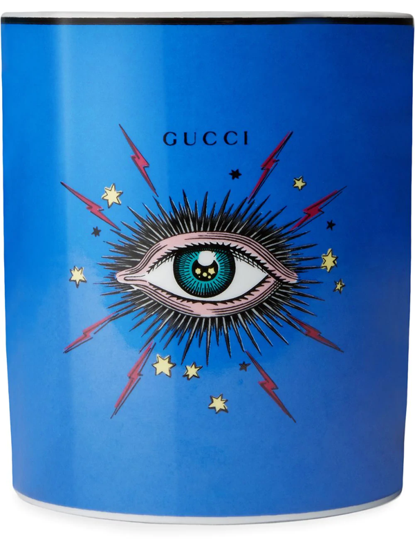 Gucci Inventum, Xxl Star Eye Candle In Blue