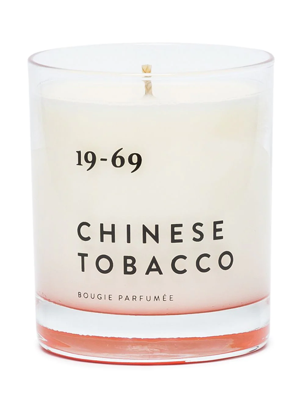 19-69 Chinese Tobacco Candle In White