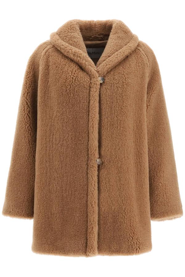 Max Mara 2teddy Bear Coat In Brown