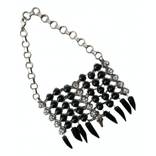 Pre-owned Dannijo Silver Metal Necklace