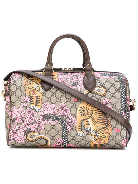 9c229f3f2f11 Gucci Gg Supreme Bengal Tiger Shoulder Bag   ModeSens