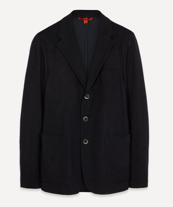 Barena Venezia Three-button Unlined Blazer Jacket In Navy