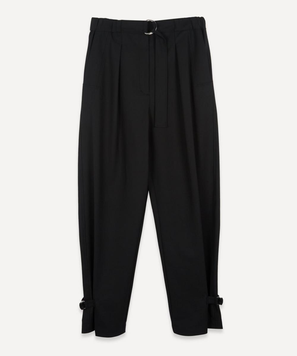 3.1 Phillip Lim Tapered Leg Track Trousers In Black