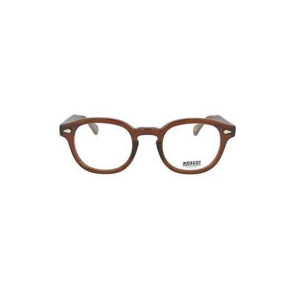 Moscot Women's Lemtoshbrown Brown Metal Glasses