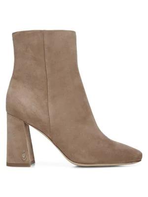 Sam Edelman Women's Codie Suede Ankle Boots In Praline