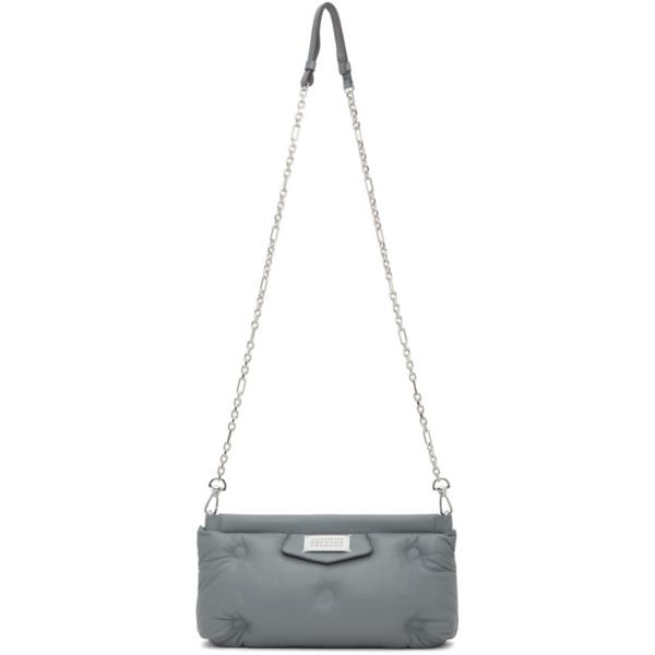 Maison Margiela Grey Glam Slam Red Carpet Bag In T8121 Dust