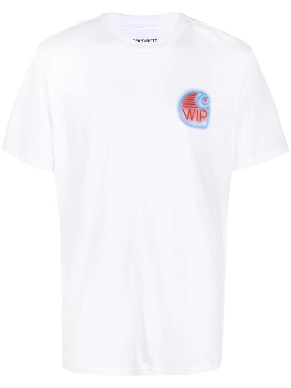Carhartt Short-sleeve Neon Crab T-shirt In White