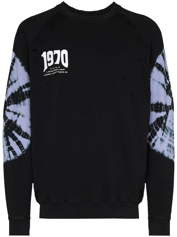 Satisfy Black X Browns 50 1970 Sweatshirt