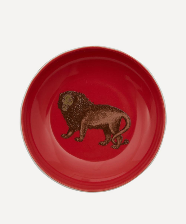 Avenida Home Lion Small Plate In Assorted