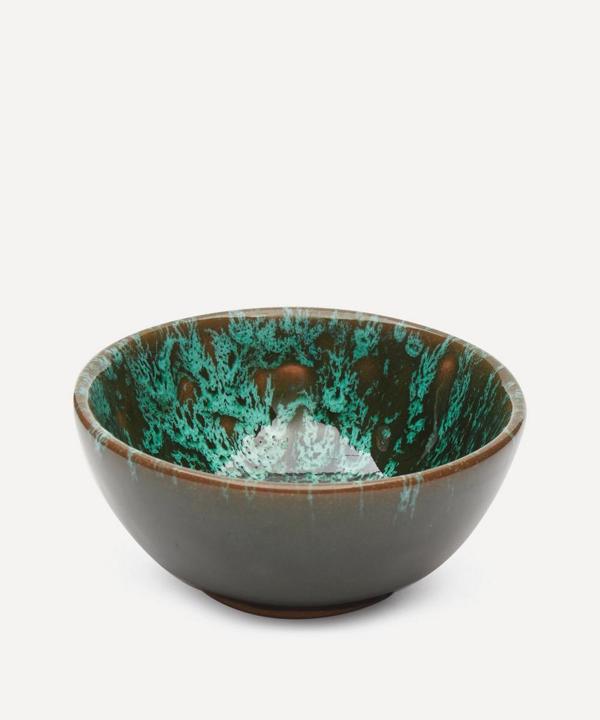 Emma Cerasulo Extra Small Splatter Bowl In Green