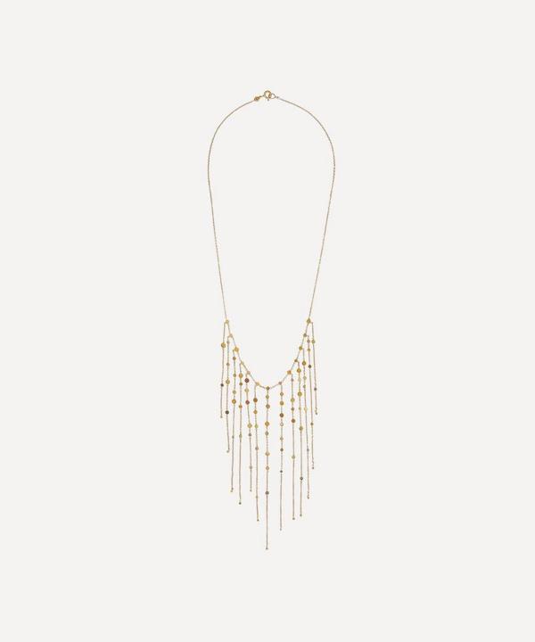 Sia Taylor Rainbow Gold Dust Drift Necklace