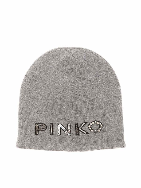 Pinko Tropicale Cap In Grey