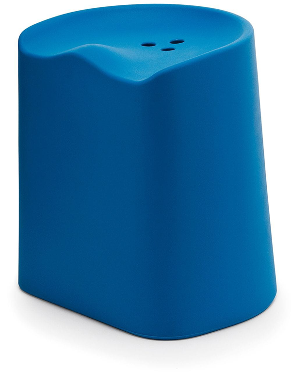 Established & Sons Butt Stool In Blue