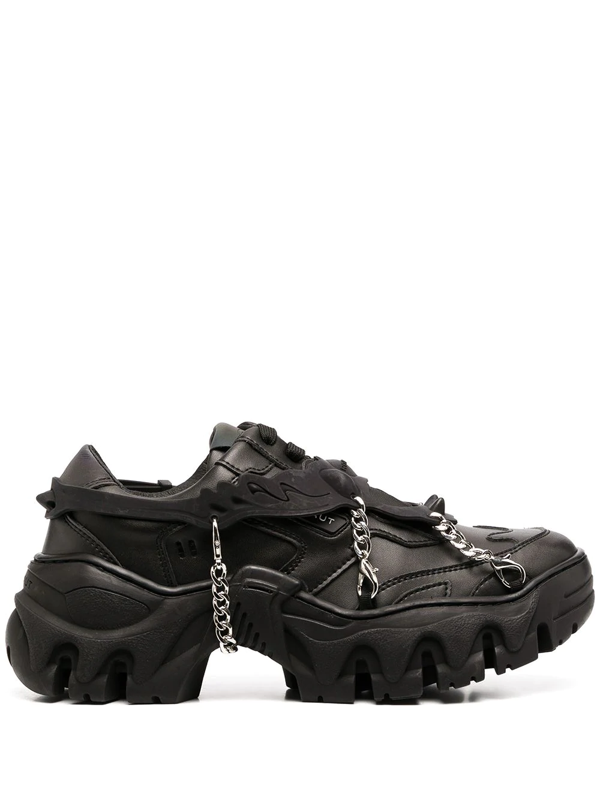 Rombaut Boccacio Low-top Sneakers In Black