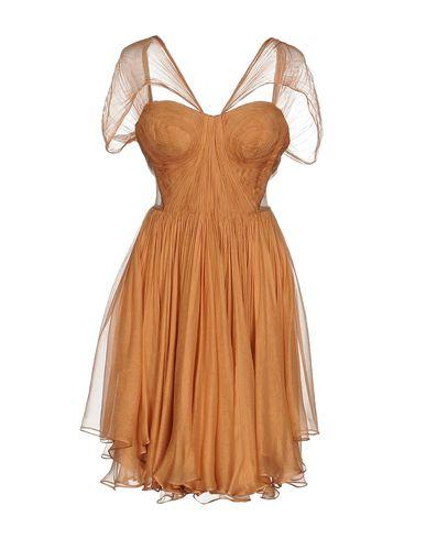 Maria Lucia Hohan Short Dress In Apricot