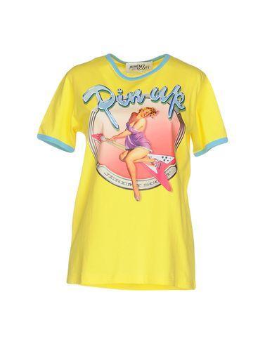 Jeremy Scott T-Shirt In Yellow