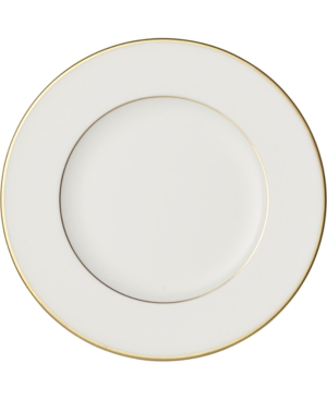 Villeroy & Boch Anmut Gold Bread & Butter Plate In White