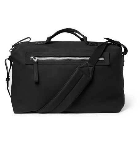 Lanvin Full-grain Leather Holdall In Black