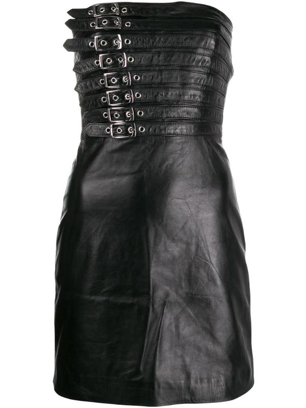 Manokhi Buckle Detail Dress In Black