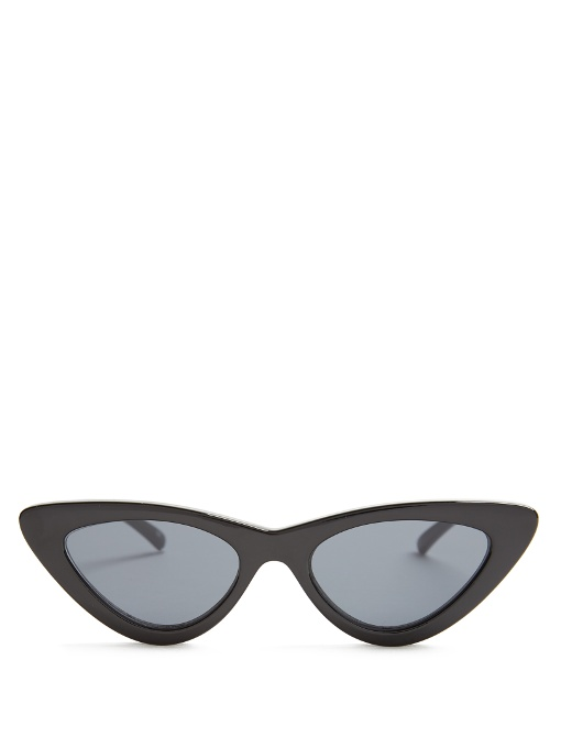 Le Specs The Last Lolita Cat-Eye Sunglasses In Black