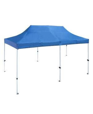 Aleko Gazebo Canopy Party Tent In Blue
