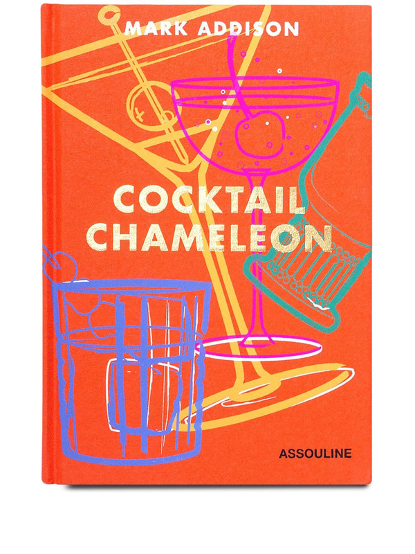 Assouline Cocktail Chameleon In Orange