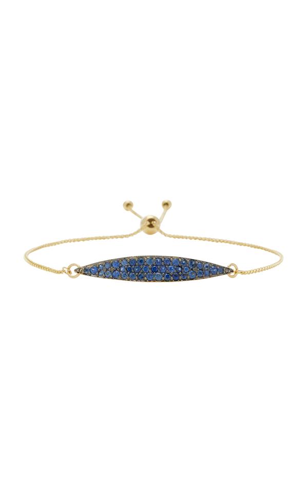Ila Odette 14k Gold Blue Sapphire Bracelet