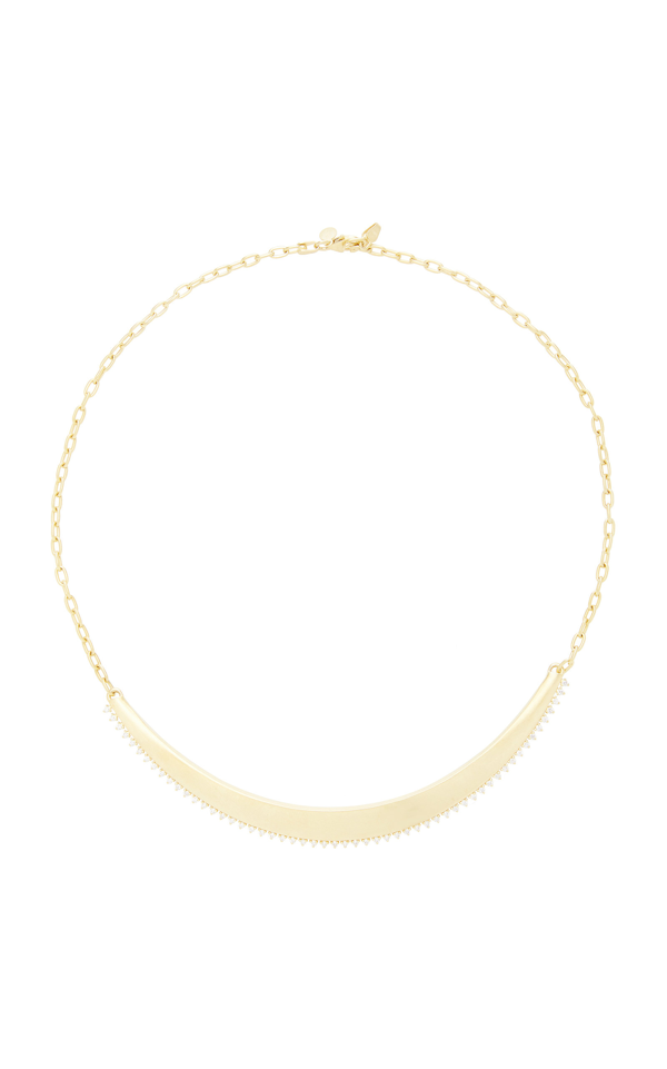 Ila Cybil 14k Gold Diamond Necklace In Yellow