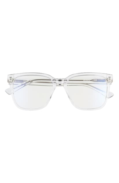 Quay Wired 50mm Glasses In White