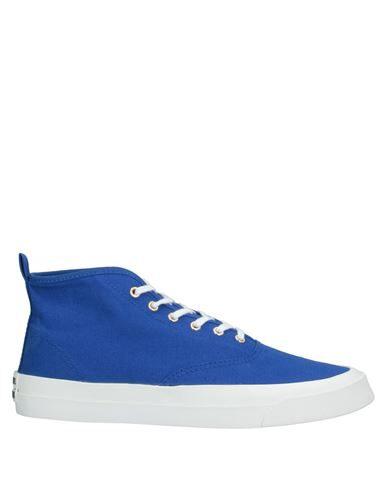 Maison Kitsuné Sneakers In Bright Blue