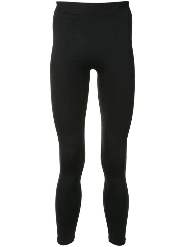 Rick Owens Stretch-fit Leggings In Black