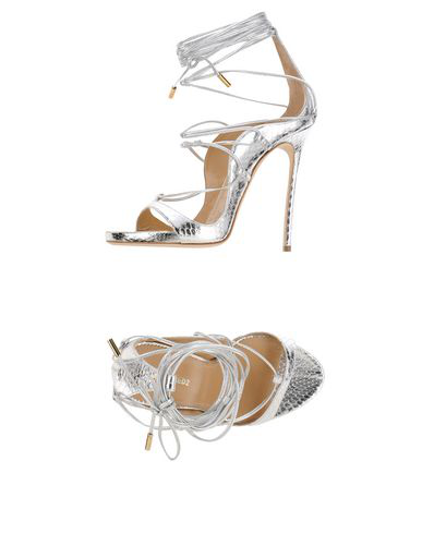 6281364d2 Dsquared2 120Mm Elaphe Snakeskin Lace-Up Sandals