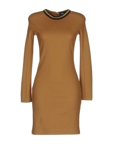 Dsquared2 Short Dress In Camel