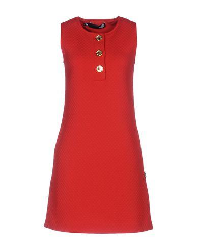 Love Moschino Short Dresses In Red