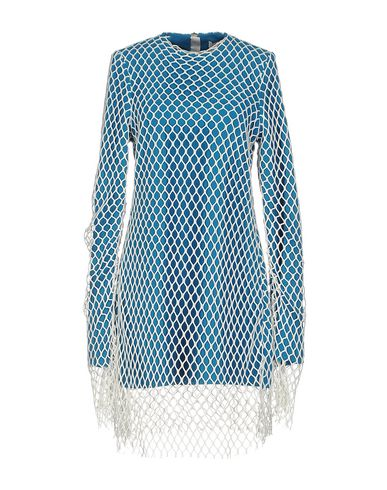 Marques' Almeida Short Dress In Turquoise