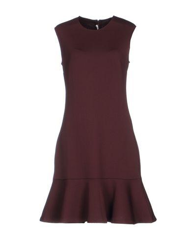 Mcq By Alexander Mcqueen Short Dress In Cocoa